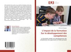 Couverture de L'impact de la formation Sur  le développement des compétences