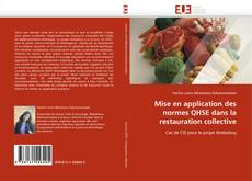 Portada del libro de Mise en application des normes QHSE dans la restauration collective