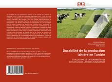 Portada del libro de Durabilité de la production laitière en Tunisie