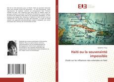 Copertina di Haïti ou la souverainté impossible
