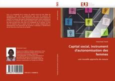 Bookcover of Capital social, instrument d'autonomisation des femmes