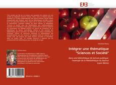 """Обложка Intégrer une thématique """"Sciences et Société"""""""