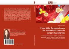 Propriétés thérapeutiques du mAb16D10 contre le cancer du pancréas kitap kapağı
