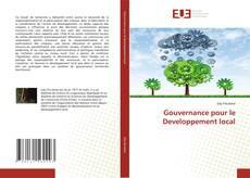 Copertina di Gouvernance pour le Developpement local