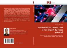 Bookcover of Vulnérabilité à l'alcool chez le rat: Impact du stress prénatal