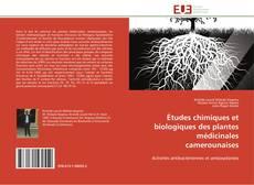 Buchcover von Études chimiques et biologiques des plantes médicinales camerounaises