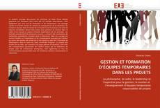 Bookcover of GESTION ET FORMATION D'ÉQUIPES TEMPORAIRES DANS LES PROJETS