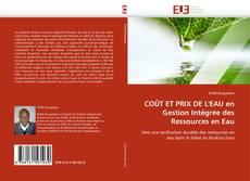 Portada del libro de COÛT ET PRIX DE L'EAU en  Gestion Intégrée des Ressources en Eau