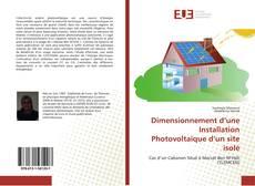 Couverture de Dimensionnement d'une Installation Photovoltaïque d'un site isolé