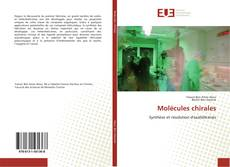 Обложка Molécules chirales