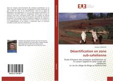 Bookcover of Désertification en zone  sub-sahélienne