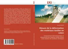 Bookcover of Mesure de la déformation des matériaux textiles en coton