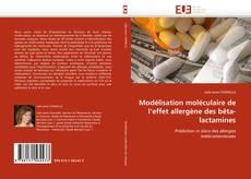 Couverture de Modélisation moléculaire de l'effet allergène des bêta-lactamines