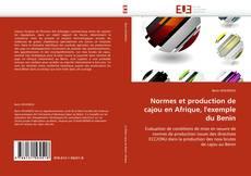 Portada del libro de Normes et production de cajou en Afrique, l'exemple du Benin