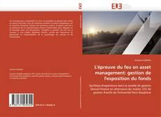 Couverture de L'épreuve du feu en asset management: gestion de l'exposition du fonds