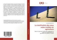 Borítókép a  La réutilisation des eaux usées traitées en agriculture - hoz