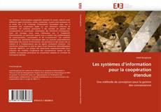 Couverture de Les systèmes d'information pour la coopération étendue