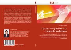 Bookcover of Système d'exploitation de corpus de traductions