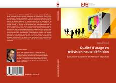 Borítókép a  Qualité d'usage en télévision haute définition - hoz
