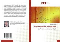 Обложка Reformulation de requêtes