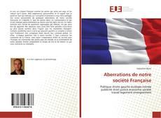 Bookcover of Aberrations de notre société Française
