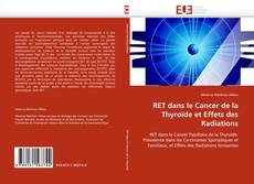 Capa do livro de RET dans le Cancer  de la Thyroïde  et Effets des Radiations