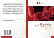 Bookcover of La différenciation érythroïde  terminale: