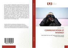 Couverture de COMMUNICATION ET INTERNET