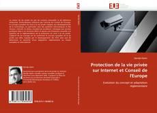 Bookcover of Protection de la vie privée sur Internet et Conseil de l'Europe