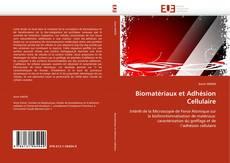 Copertina di Biomatériaux et Adhésion Cellulaire