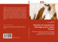 Bookcover of Résultats de reproduction d'élevages bovins laitiers français