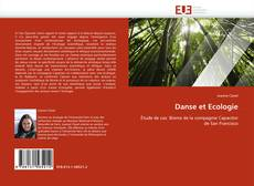 Bookcover of Danse et Ecologie