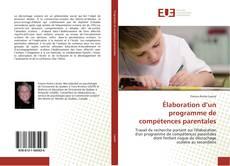 Couverture de Élaboration d'un programme de compétences parentales