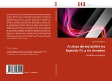 Borítókép a  Analyse de testabilité de logiciels flots de données - hoz