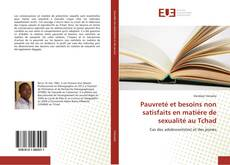 Capa do livro de Pauvreté et besoins non satisfaits en matière de sexualité au Tchad