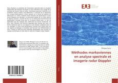 Portada del libro de Méthodes markoviennes en analyse spectrale et imagerie radar Doppler