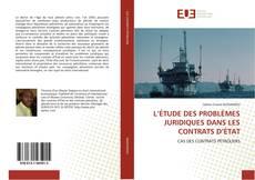 L'ÉTUDE DES PROBLÈMES JURIDIQUES DANS LES CONTRATS D'ÉTAT kitap kapağı