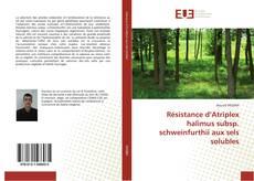Copertina di Résistance d'Atriplex halimus subsp. schweinfurthii aux sels solubles