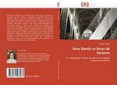 Bookcover of Rota Dantis et Roue de Verlaine