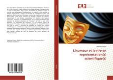 Capa do livro de L'humour et le rire en représentation(s) scientifique(s)