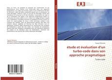 Bookcover of étude et évaluation d'un turbo-code dans son approche  pragmatique