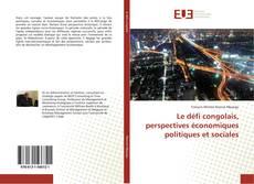 Bookcover of Le défi congolais, perspectives économiques politiques et sociales