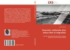 Bookcover of Pauvreté, recherche d'un mieux être et migration