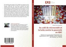 Bookcover of les asbl de microcredit et la lutte contre la pauvreté en RDC