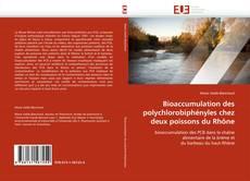 Capa do livro de Bioaccumulation des polychlorobiphényles chez deux poissons du Rhône