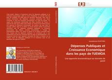 Couverture de Dépenses Publiques et Croissance Economique dans les pays de l'UEMOA