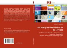 Capa do livro de Les Marques de Produits ou de Services