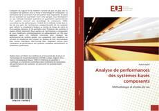 Обложка Analyse de performances des systèmes basés composants