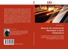 Mesures de conductivité thermique à haute température kitap kapağı