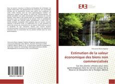 Couverture de Estimation de la valeur économique des biens non commercialisés